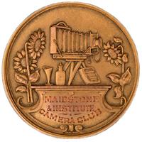 Print Medal 1910-11 Verse