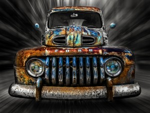 Rat Rod by Anthony Rigg