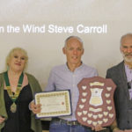 Steve Carroll ARPS wins the Premier Award Certificate and Ashford Photographic Society Shield for his image: Blowin'in the Wind