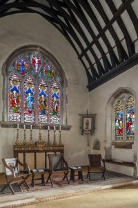 THE CHANCEL ST GEORGES CHURCH BREDE