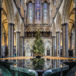 2nd Place - Salisbury Cathedral, The Font looking west by Clive Tanner MPAGB, FRPS, APAGB
