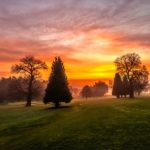 3rd Place - Sunrise at West Malling Golf Club by Tony White