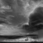 1st Place - Supercell Dropping Hail on Nebraskan Plains by Steve Carroll