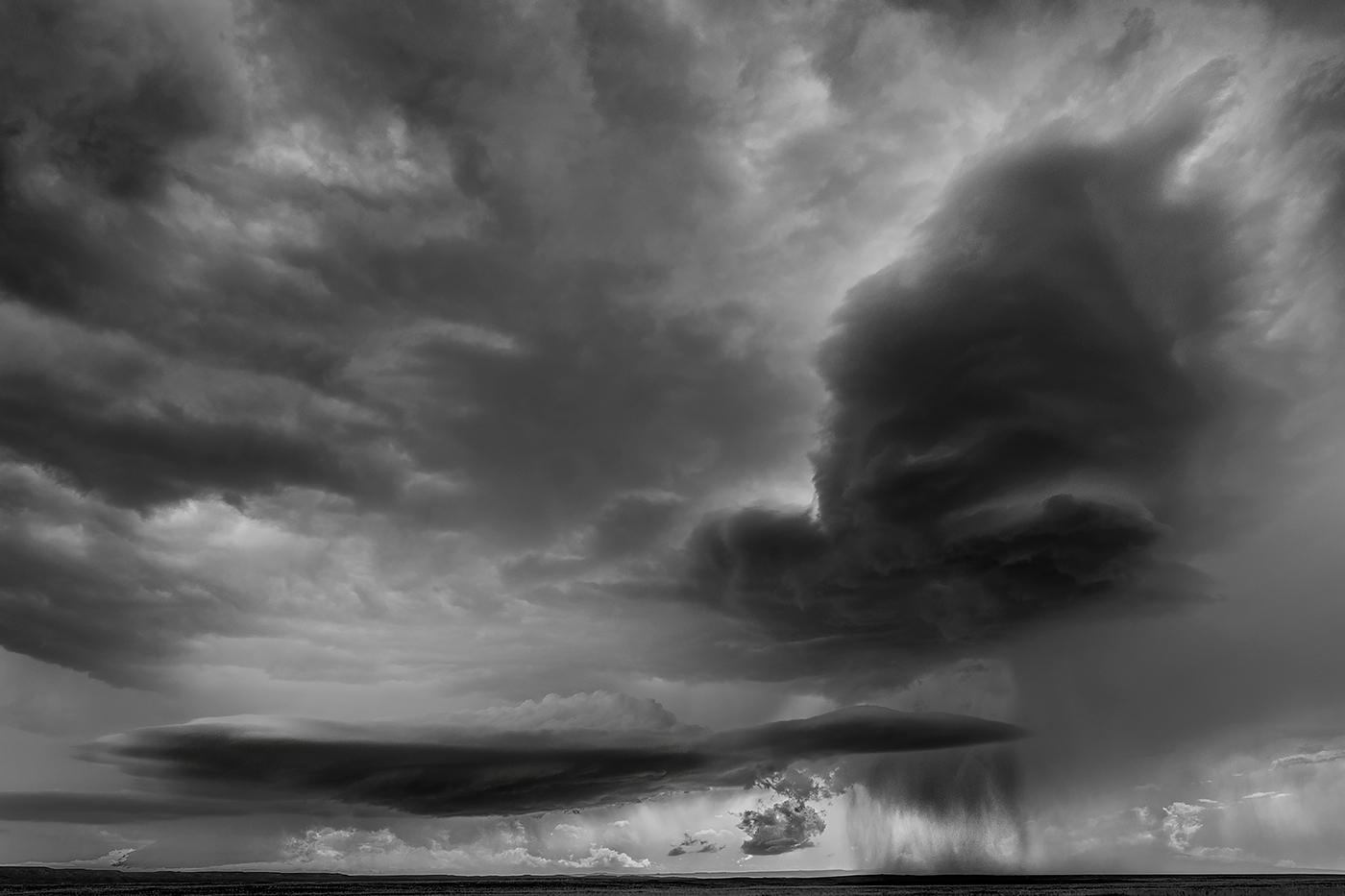 1st Place - Supercell Dropping Hail on Nebraskan Plains by Steve Carroll