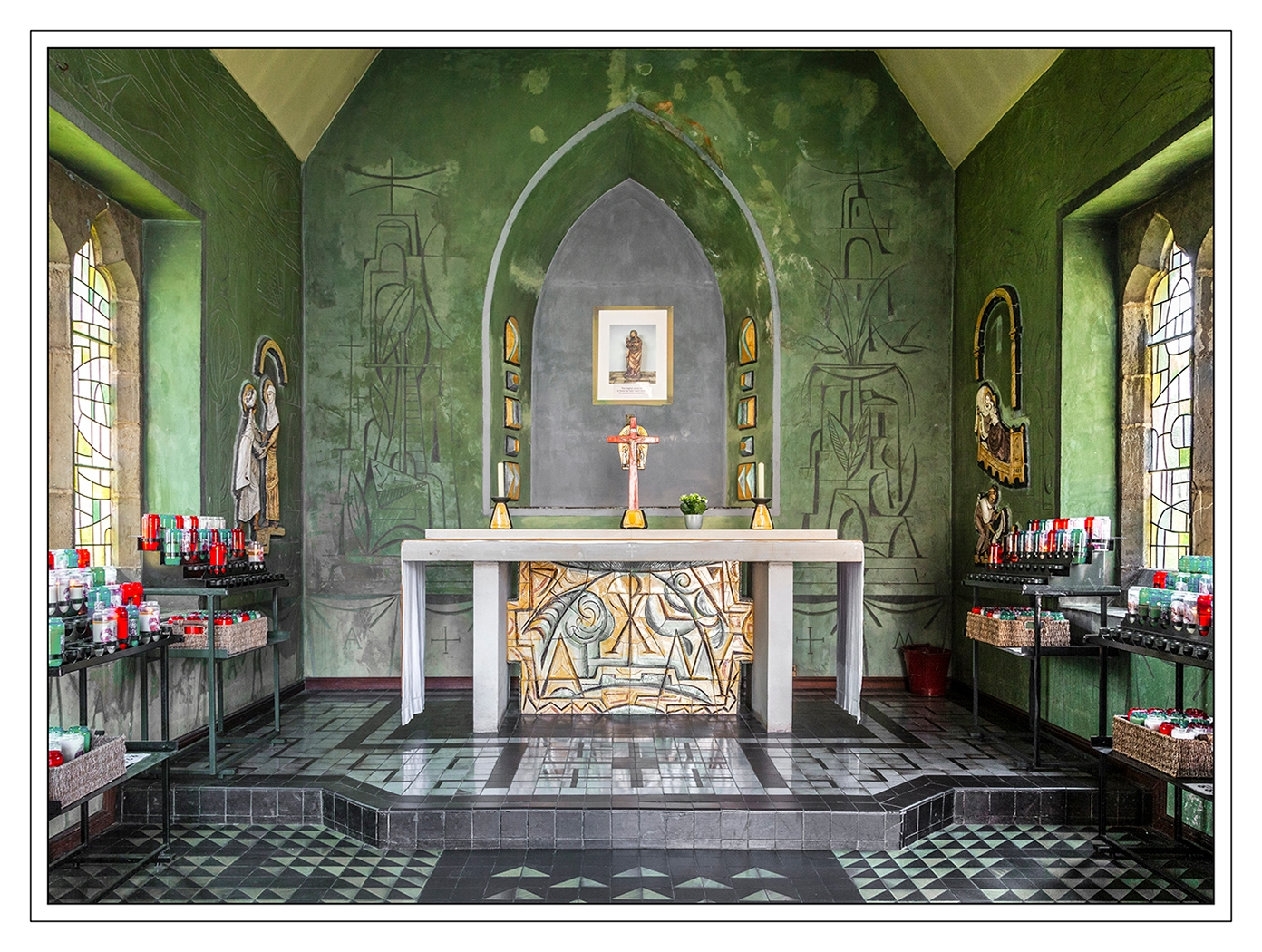 3rd Place - St Anne's Chapel at Carmalite the Friars Aylesford by Mick Porter