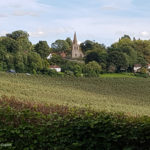 Linton Church from the Greensand Ridge