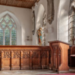 2nd Place - Redundant Quire Stall And Prayer Desk All Saints Church Ulcombe by Chris Rigby