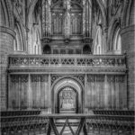 Gloucester Cathedral, Nave Altar, Quire Screen and Organ Pipes by Clive Tanner FRPS MPAGB APAGB - 18