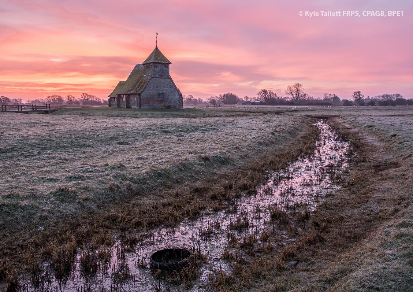 Winter sunrise at fairfeild
