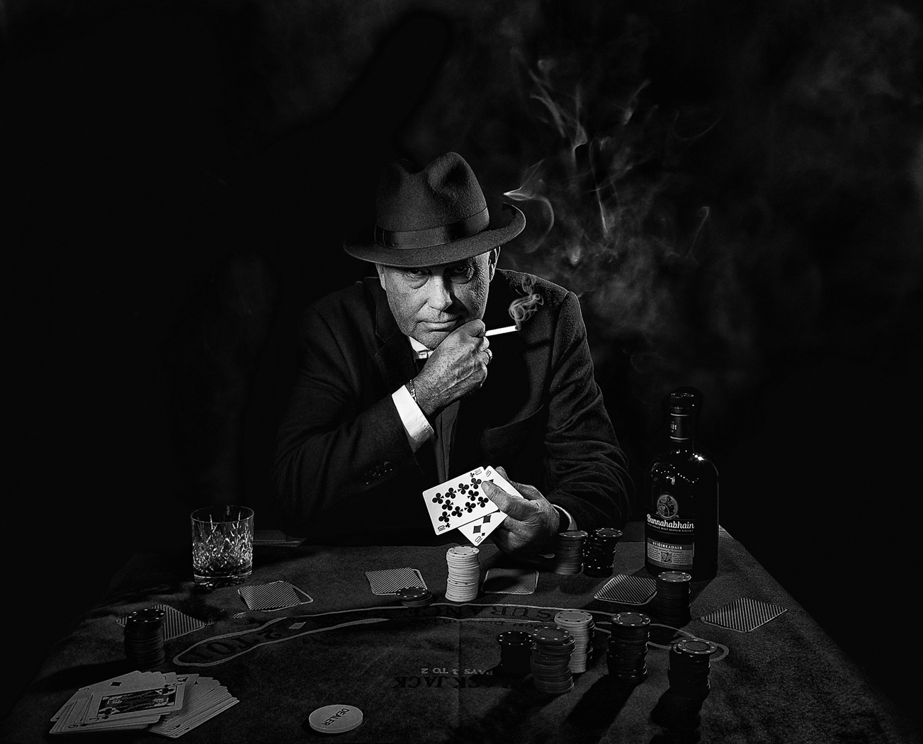 2nd Place - The Poker Player by Tess Salmon LRPS, CPAGB, BPE1