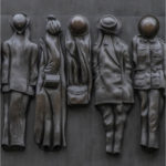 2nd Place - Detail from The Monument to the Women of World War II - Whitehall, London by Sue Purveur