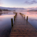 1st Place - Dawn at Monk Coniston Pier by Ray Bridges LRPS, CPAGB, ADPS, BPE3